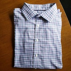 Tommy Hilfiger NWOT Plaid Slim Fit Shirt